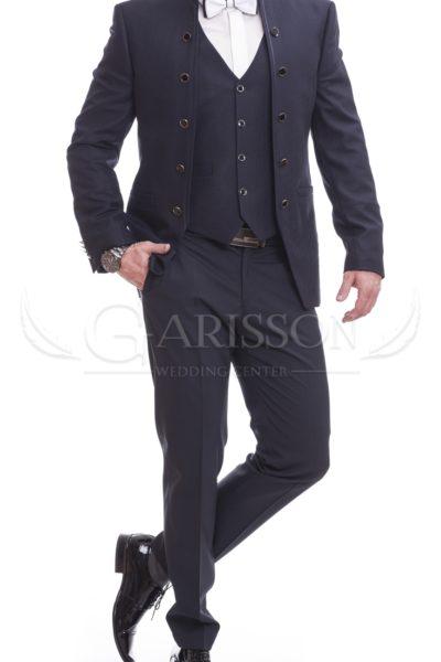 Pánsky Oblek Modrý P08