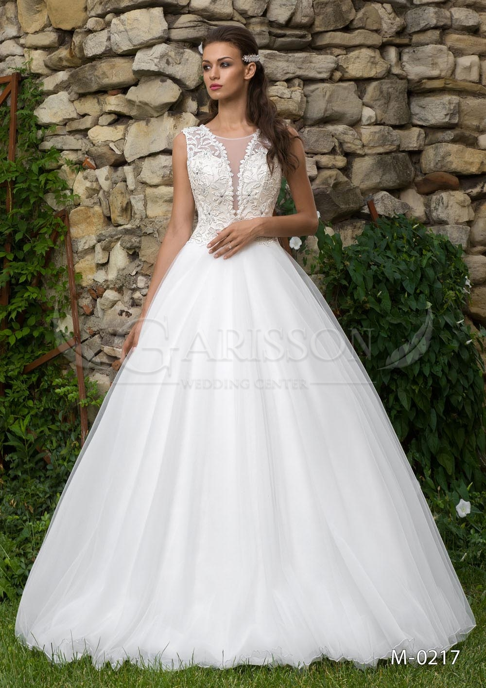 Svadobné šaty M217 - Garisson 55eb12e39d5
